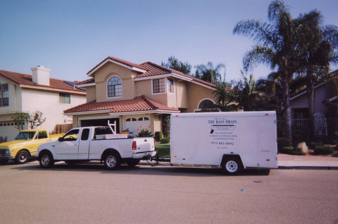 The Rain Drain Quality Gutter Installation Amp Services